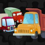 Cartoon Truck Jigsaw