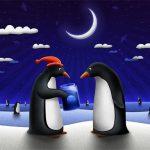 Christmas Penguin Slide