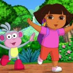 Dora The Explorer Coloring