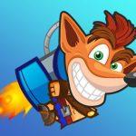 Flying Crash Bandicoot