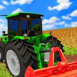 Forage Farming Simulation : Plow Harvest Game