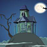 Haunted House Hidden Ghost