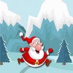 Santa Running